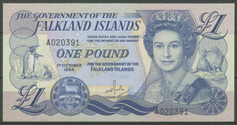 Falkland-Inseln 1 Pound 1984, KM 13 A Kassenfrisch (K529) - Islas Malvinas