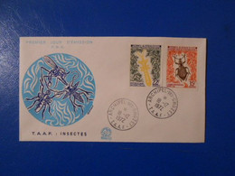 TAAF FDC YT 49/50 INSECTES - FDC