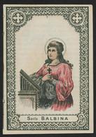 Incisione/engraving: S. BALBINA M. - Primi '900 - Mm. 73 X 105 - Religion & Esotericism