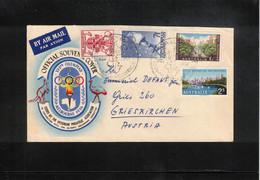 Australia 1956 Olympic Games Melbourne Interesting Letter - Verano 1956: Melbourne