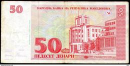 Makedonija,1993,Mazedonien,Macedonia,Macedoine,Pick#11, 50 Denari 1993,as Scan - Macedonia