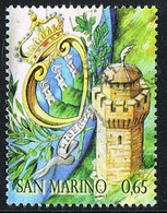 2010 - SAN MARINO - LA TERZA TORRE /  - USATO / USED. - Gebraucht
