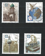 YY-/-886.- YVERT - SERIE COMPLETE - N° 2937/40,  Obl. Cote 3.00 €, IMAGE DU VERSO SUR DEMANDE - Used Stamps