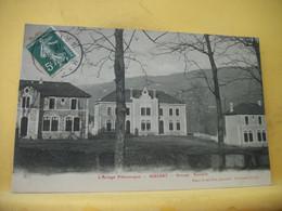 09 2813 INCONNU SUR DELCAMPE. ASSEZ RARE CPA 1910 - 09 MASSAT. GROUPE SCOLAIRE. - School