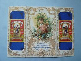 Calendrier 1897   CHICOREE A LA FRANCAIS  Paul MAIRESSE Fabricant CAMRAI  (2020 Octobre 19) - Calendari