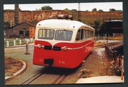 """Carte-photo Moderne """"Tramway De La CFTA à St Valéry-sur-Somme - Ligne Cayaux-Noyelles - Années 50"""" - Tram"""