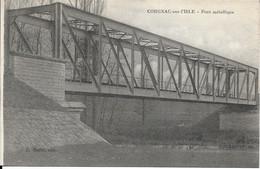 CARTE CORGNAC-SUR-L'ISLE  - PONT METALLIQUE - Other Municipalities