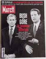Paris Match 16 Novembre 2000 N° Anniversaire 30 Ans Général Charles De Gaulle Photographié Par Les Français Photos Inédi - People