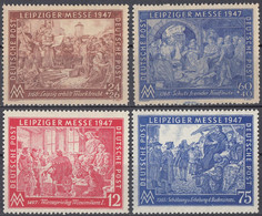 GERMANIA AAS, ZONA ANGLO AMERICANA - 1947 - Serie Completa Nuova MNH Formata Da 4 Valori: Yvert 28/31. - Zone AAS