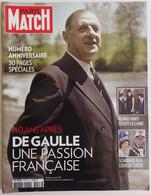 Paris Match 10 Novembre 2010 N° Anniversaire 40 Ans Général Charles De Gaulle Une Passion Française, 30 Pages Spéciales - People