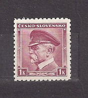 Czechoslovakia 1939 MNH ** Mi 406 (A1 B.u.M.)Sc 256 T.G.Masaryk CESKO - SLOVENSKO. Tschechoslowakei. C5 - Czechoslovakia