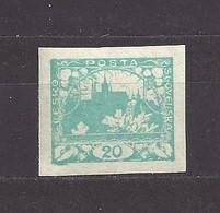 Czechoslovakia 1918 MNH ** Mi 4 Sc 4 Hradcany At Prague. Tschechoslowakei. C10 - Czechoslovakia