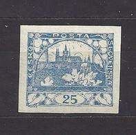 Czechoslovakia 1918 MNH ** Mi 5 Sc 5 Hradcany At Prague. Tschechoslowakei. C10 - Czechoslovakia