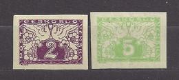 Czechoslovakia 1919 MNH ** Mi 11-12 Sc E1-E2 Express Stamps, Eilmarken.Tschechoslowakei.c4 - Czechoslovakia