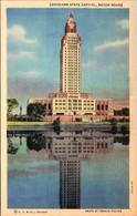 Louisiana Baton Rouge The State Capitol Curteich - Baton Rouge