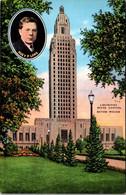 Louisiana Baton Rouge The State Capitol And Huey P Long - Baton Rouge
