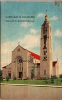Louisiana Baton Rouge Sacred Heart Of Jesus Church 2250 Main Street - Baton Rouge