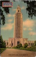 Louisiana Baton Rouge The State Capitol 1944 - Baton Rouge