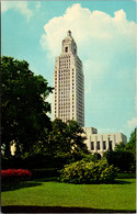 Louisiana Baton Rouge The State Capitol Building - Baton Rouge