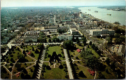 Louisiana Baton Rouge South View From State Capitol  1963 - Baton Rouge