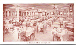 Louisiana New Orleans La Louisiane French And Creole Restaurant Main Dining Room - Other