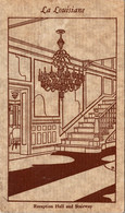 Louisiana New Orleans La Louisiane French And Creole Restaurant Recepption Hall And Stairway - Other