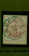 Hannover, Wappen Nr.13 B  Gestempelt Altgeprüft Kleinert - Hanover