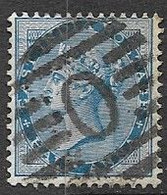 East India Company   1855   Sc#11   1/2A Victoria  Used    2016 Scott Value $4.50 - 1854 Britische Indien-Kompanie