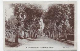 TORTERON - N° 3 - AVENUE DE L' EGLISE - FORMAT CPA VOYAGEE - Sonstige Gemeinden