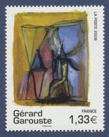 N° 4244 Gérard Garouste , Valeur Faciale 1,33 € - Ungebraucht