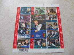 Belgique Bloc 128 Billard  2006 Oblitéré  / Belgie  Blok 128 Biljart Gestempelt Mooie 2006 - Used Stamps