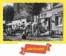 CPSM LOCQUIGNOL 59 ♥♥♣♣☺♣♣  CAFE RESTAURANT TABACS - Belle Animation Terrasse ♣♣♦♦☺♣♣ - Andere Gemeenten