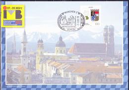 Deutschland Germany - Erinnerungsblatt Der Post AG Zur IMB 2002  (MiNr: 1587) Vom -7.-3.02 - Storia Postale