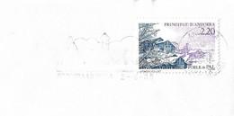 Timbres Sur Lettres 1989 N° 377 Pal En Hiver Cote 2,50€ - Cartas