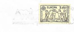 Timbres Sur Lettres 1989 N° 378 Europa Cote 13€ - Cartas