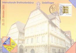 Deutschland Germany - Erinnerungsblatt Der Post AG 20. Intern. Briefmarkenbörse 2002  (MiNr: 2248) Vom 25.10.02 - Storia Postale