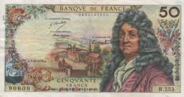 (B0127) FRANCE, 1974. 50 Francs. P-148e. VG - 50 F 1962-1976 ''Racine''