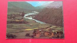 A Vew Of Thimphu Valley - Bhutan