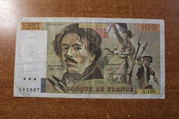 France 100 Francs 1985 - 1962-1997 ''Francs''