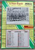 52 SAINT DIZIER Calendrier  Pedale Bragarde 1964 Equipe Velos Pub MIKO Ortiz ... - Calendari