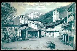 VILLAR PELLICE - Piazza Vittorio Emanuele II. ( Ed. Bottegardella Carta ) Carte Postale - Places