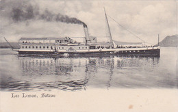 Lac Léman -- Bâteau à Vapeur -- France - Transbordadores