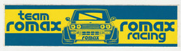 Sticker Team ROMAX Rally Fiat - Stickers