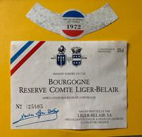 16250 - Bourgogne 1972 Réserve Comte Liger-Belair - Bourgogne
