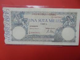 ROUMANIE 100.000 LEI 1945 Peu Circuler (B.20) - Romania