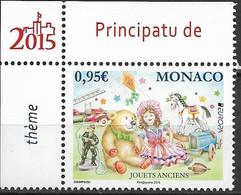 2015 Monaco Mi. 3236 **MNH  TOYS, TEDDY BEARS, KITES - 2015