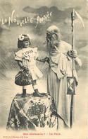 ENFANT - LITTLE GIRL - MAEDCHEN - BERGERET - 1905 - LA PAIX - Carte Fantaisie - Ohne Zuordnung