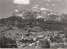 N°6579 R -cpsm Cartina -Gruppo Delle Tofane- - Belluno