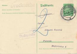 OSTROLENKA (Südostpr)  -   1940  ,  Poststempel   -  Links Falte / Knick - Machine Stamps (ATM)