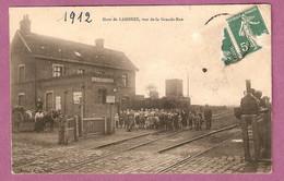 Cpa Gare De Lambres Vue De La Grande Rue - édition PL - Otros Municipios